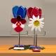 glasfusing bloem, herinneringsbeeld
