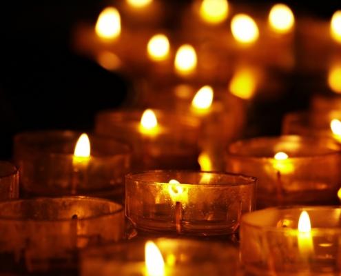 WereldLichtjesDag, herinneren, herdenken