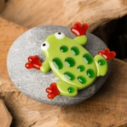 Persoonlijk gedenkobject mini urn Kikker