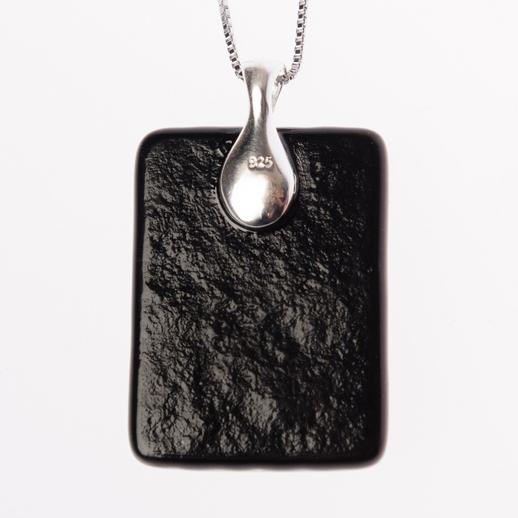 Achterkant ashanger - 925 zilveren bail