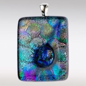 Kleurrijk gedenksieraad van glas
