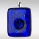 Gedenksieraad ashanger blauw