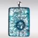 Ashanger van zilver glas