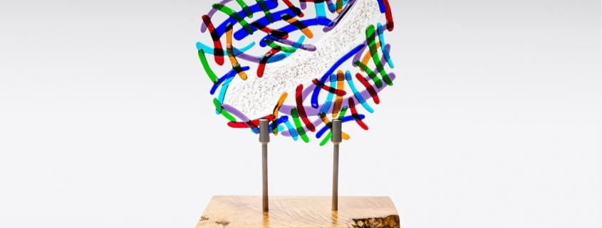 Persoonlijk herinneringsbeeld colourful abstract